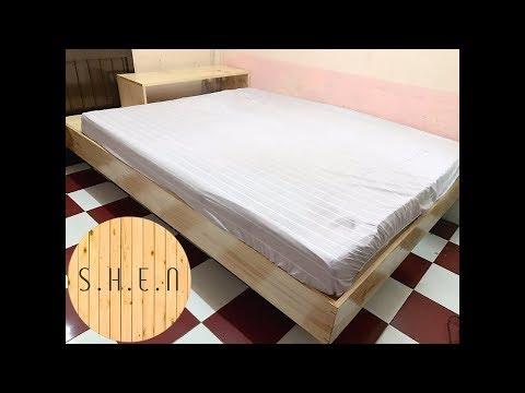 [#ShenWood] Giường hộp tự làm - Diy Platform bed-Part 2