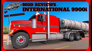 Ats Mod Reviews #1 International 9900i By Dn Modding W Commentary American Truck Simulator