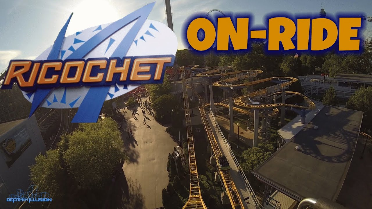 ricochet on ride front seat hd pov kings dominion youtube