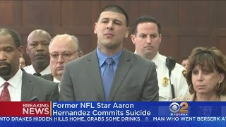 Ex-NFL Star Aaron Hernandez Hangs Himself In Prison Cell
