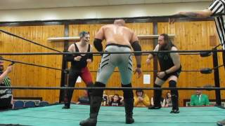 Triple Threat Match. Assassin vs Adam Christ vs HT Drake.
