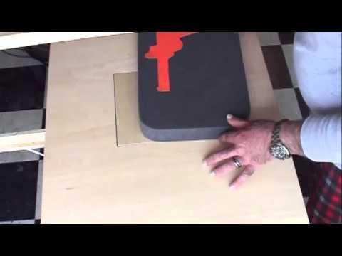 Hot wire foam cutting by MRP