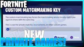 NEW PRIVATE CUSTOM MATCHMAKING IN FORTNITE BATTLE ROYALE ON CONSOLES!