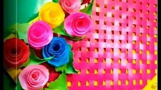 Как сделать подарок с цветами на 8 марта своими руками.сувениры поделки своими руками к дню 8 марта.