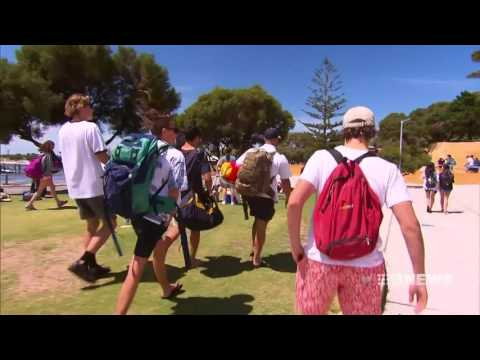Leavers Week Begins | 9 News Perth