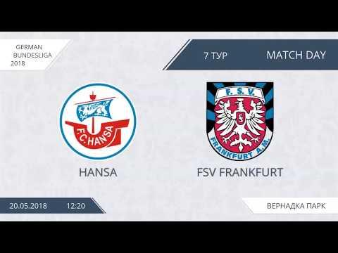 AFL18. Germany. Bundesliga. Day 7. Hansa - FSV Frankfurt