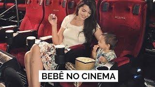 O BEBÊ FOI NO CINEMA | Vlog #98 | Lia Camargo