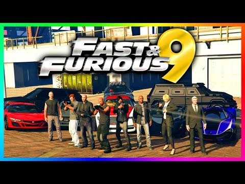 """GTA ONLINE """"FAST AND THE FURIOUS 9"""" SPECIAL - FAST & FURIOUS 9 CARS, VEHICLES, CHARACTERS & MORE!"""