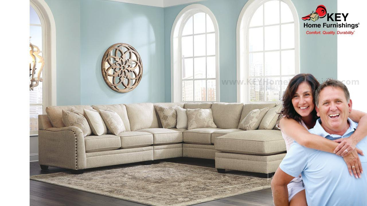 Ashley Luxora 5 Piece Sectional With