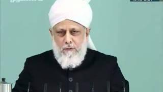 Urdu Friday khutba jumaa 13 Jan 2012, Seek Allah's forgiveness, Repent and seek His protection clip4