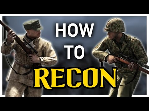 Heroes & Generals : How to RECON