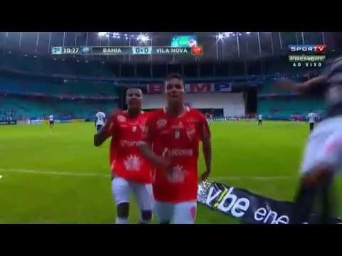 Bahia 0 x 1 Vila Nova Gol de Fabinho 05/07/2016 - Play Esportes