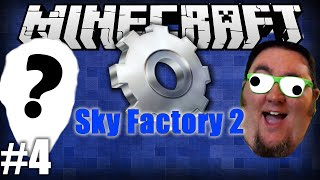 Minecraft Sky Factory 2 With...um..no one :( Ep 4