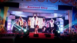 S.N COLLEGE FREE STYLE DANCE ANNUAL DAY(WON 2nd PRIZE) NCC Boys