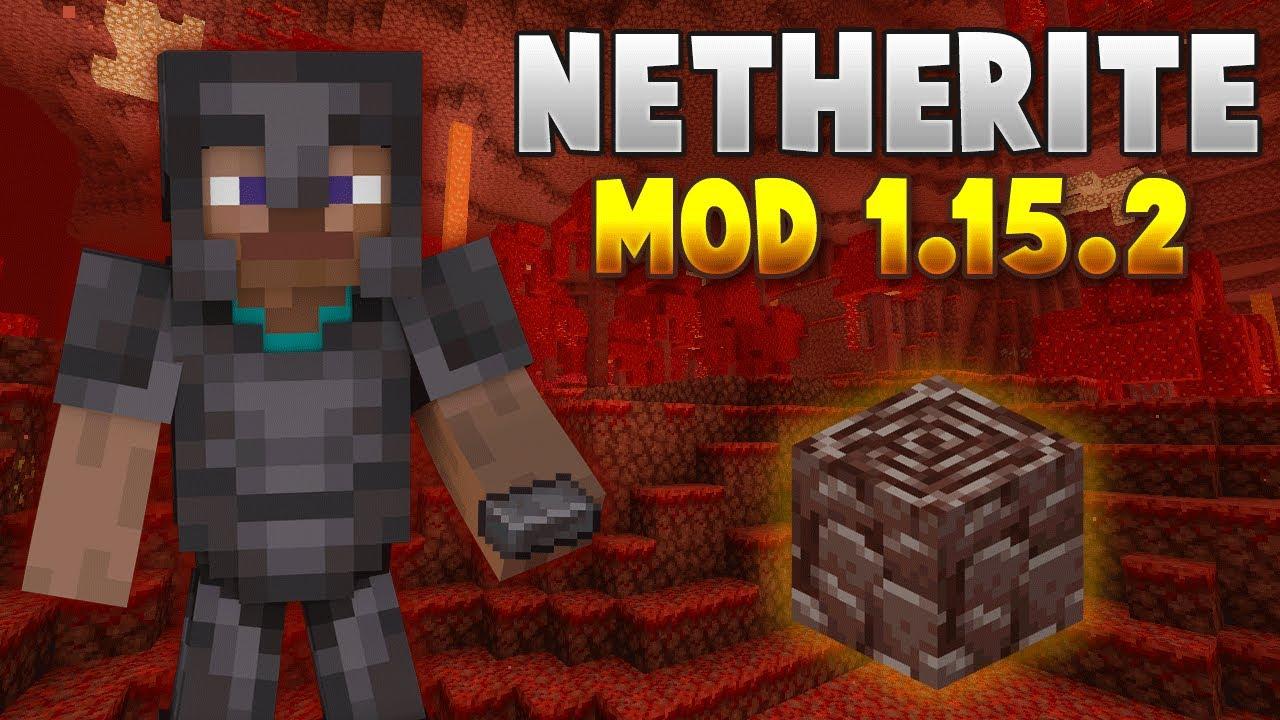 Mod De Netherite Para Minecraft 1 15 2 Netherite Mod 1 15 2 Youtube