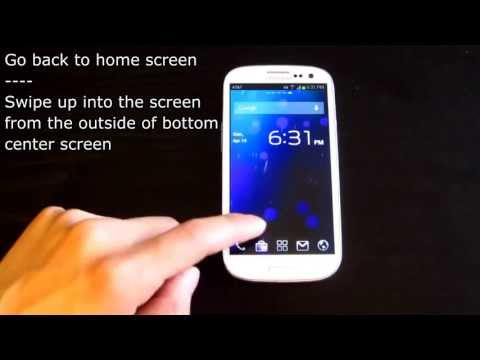 Check out Swipe Home Button for gesture-based home screen control