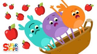 The Bumble Nums Make Oodles of Apple Strudel | Cartoons For Kids