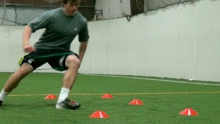 Explosive Cuts | Football Training| Football Speed and Agility