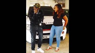 Khaligraph Jones Singing to Betty Kyalo.