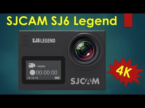 SJCAM SJ6 Legend 4K Action Camera