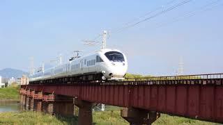 885系特急「ソニック12号」乙津川橋梁通過(2018.5.5)