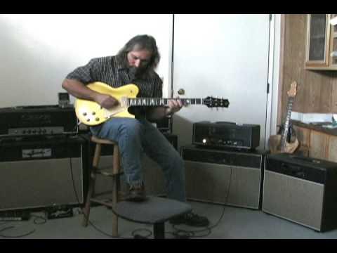 Gjika 6v6 amp Ian Anderson gold top Standard Part 1
