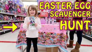 L.O.L. Surprise Easter Eggstravaganza Scavenger Hunt at Target! with LEGOs and Hatchimals Too!