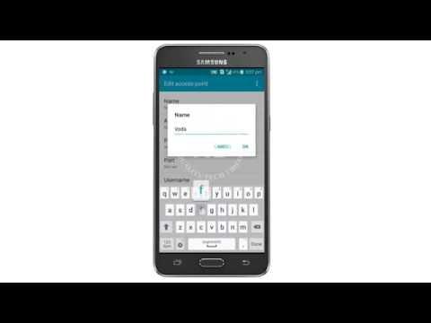 Vodafone 3G APN Settings | Internet Settings | India | Mobile Settings Tutorial