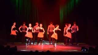 Edinburgh University Salsa Society at the 29th Edinburgh University Dance Performance Show