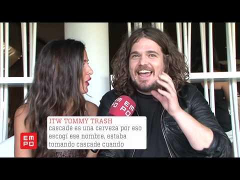 Entrevista Tommy Trash @Tomorrowland 2012