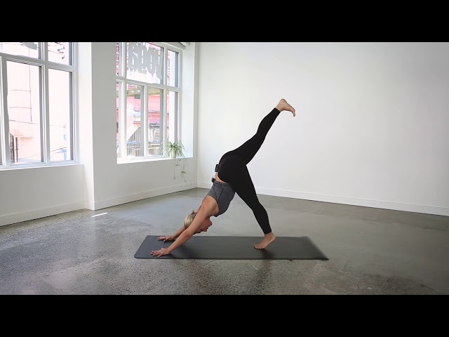 45 Minute Everyday Vinyasa Flow Yoga Class with Alex Mazerolle | lululemon