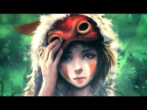 princess-mononoke---digital-art-time-lapse-#29