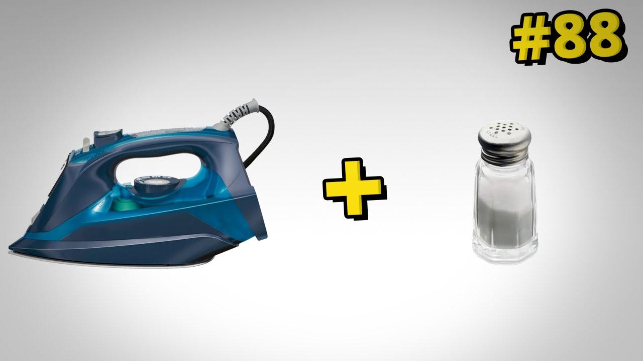 Jak wyczyścić przypalone żelazko