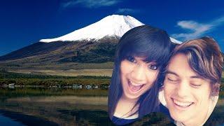 CLIMBING MT FUJI   Japan Trip Day 17+18   Damien and Kimmi