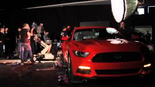 Nouvelle Ford Mustang, le making-of - Groupe GRIM -