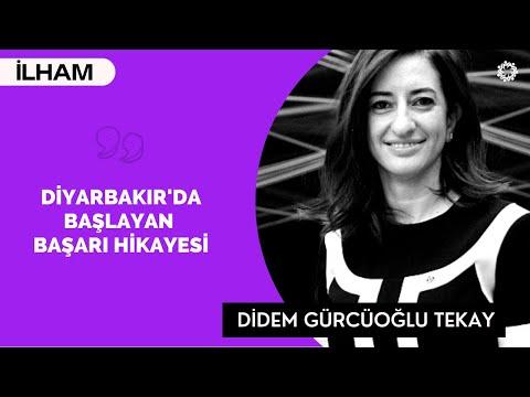 Didem Gürcüoğlu Tekay: Diyarbakır'daki Hayalim!