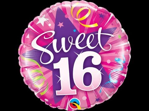 Happy 16th Birthday Best Day Of My Life Awesome 16th Birthday Wishes YouTube