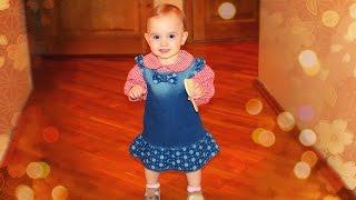 Ребенку 1 год и 1 месяц / Нарезки нашего дня!
