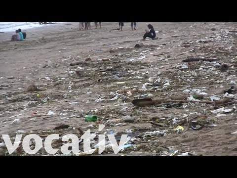 Bali's Beaches Are Overwhelmed With Trash