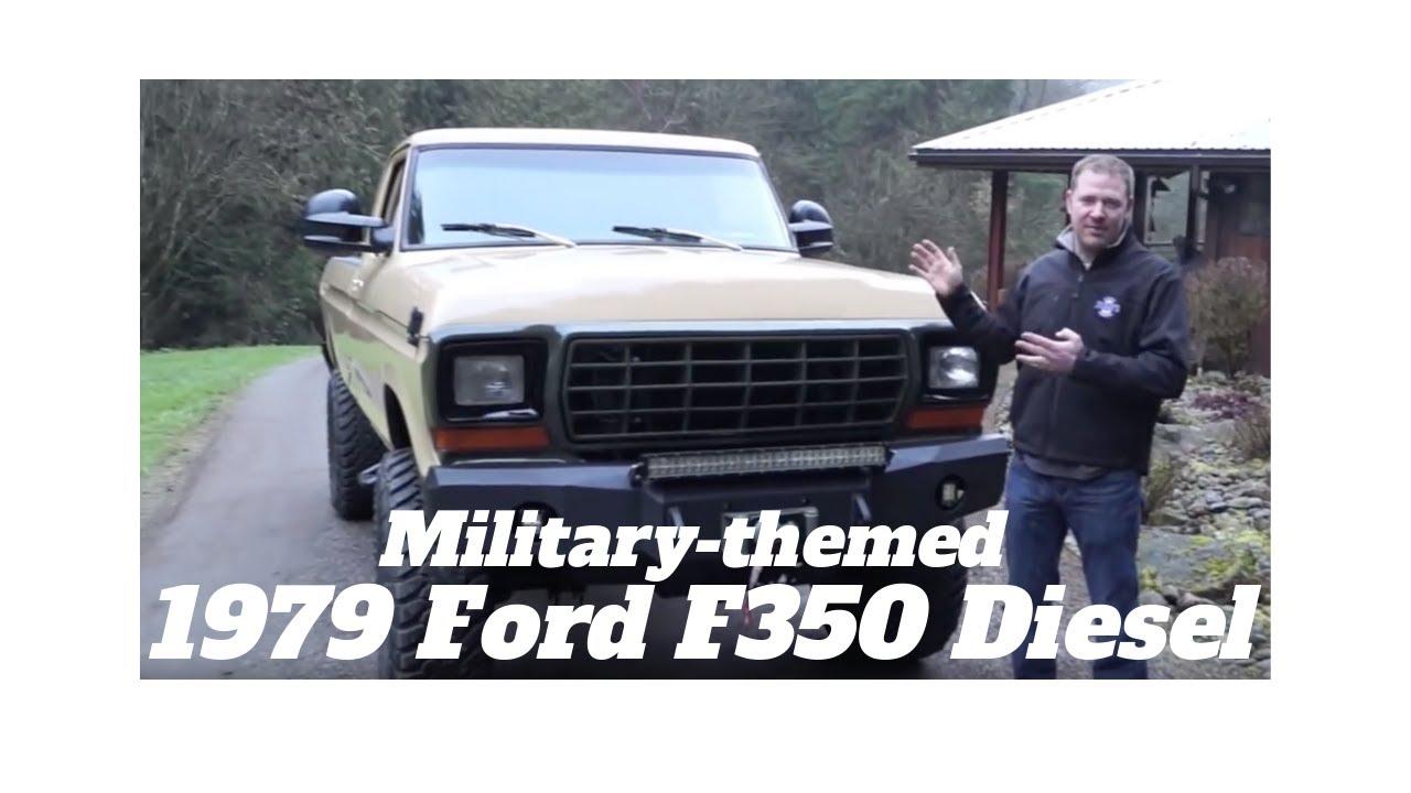 1979 Ford F350 Power Stroke Turbo Diesel Finale - YouTube