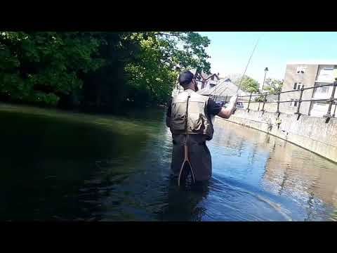 Guiding A Dry Fly Session  On The River Itchen