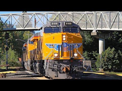 Railfanning at the Salem Station: UP train QPDRV and the Salem Local