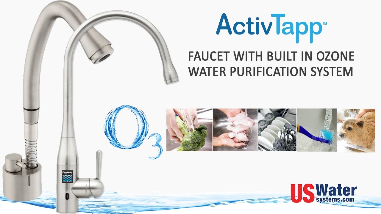 Faucet With Built In Water Purifier Filter - ActivTapp ClearWater ...