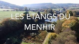 Les étangs du Menhir dans la vallée de Bellevaux sur la commune de Malmedy.
