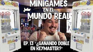 ¿Ganando Doble en Keymaster? - MiniGames en el Mundo Real Ep. 13