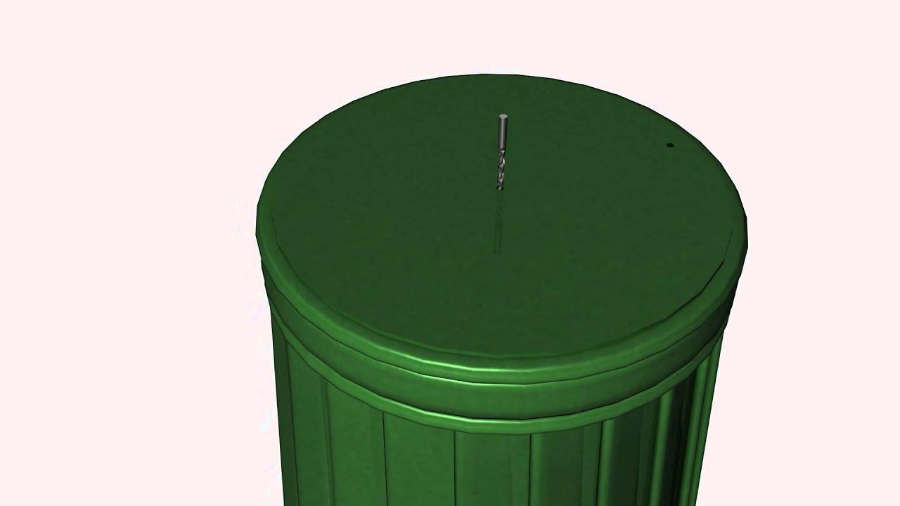 komposter tonne - youtube