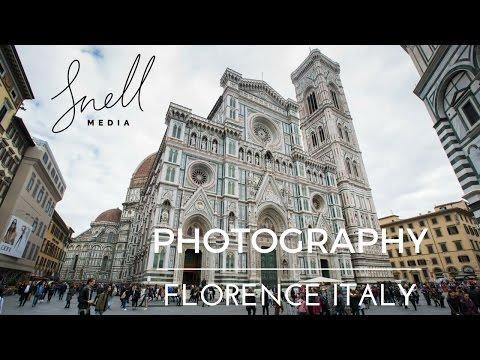 Florence Italy Travel Photography Vlog