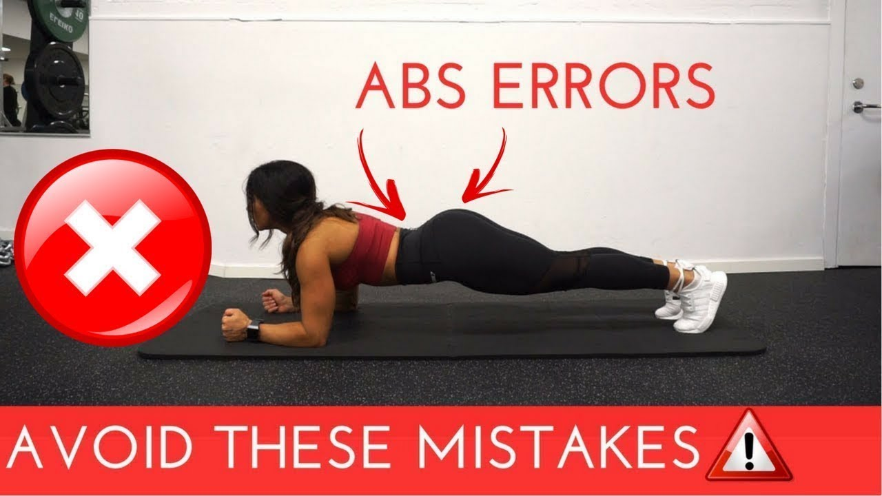 6 COMMON GYM MISTAKES FOR ABS TRAINING