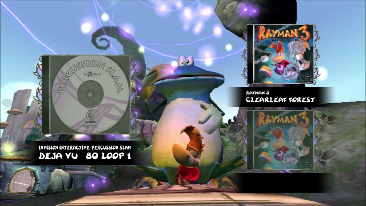 The Samples Used in Rayman 1-3