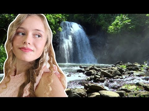 Hidden Waterfall Savusavu Fiji South Pacific - Travel Destination Fiji Islands Vanua Levu